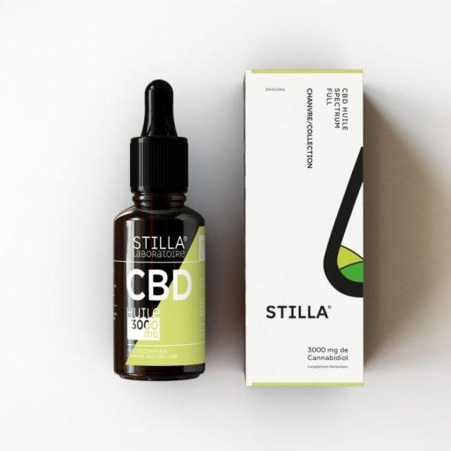 Huile de CBD Innovation STILLA 3000mg