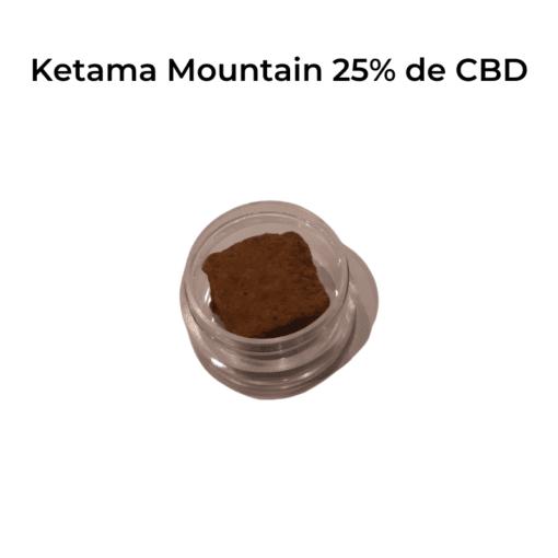 résine ketama 25% de CBD