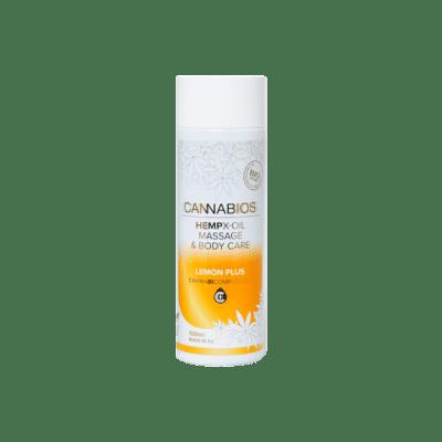 huile de massage cannabios