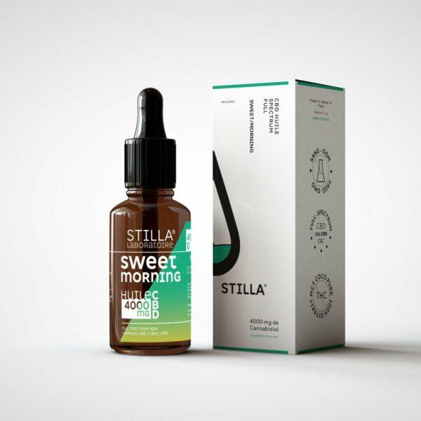 huile cbd sweet morning 4000mg stilla full spectrum